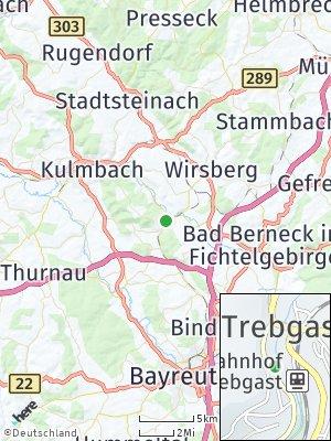 Here Map of Trebgast