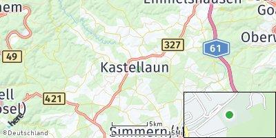 Google Map of Kastellaun