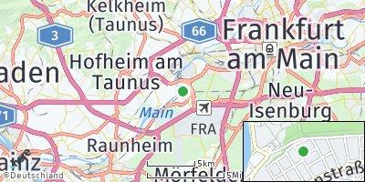 Google Map of Kelsterbach