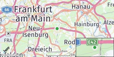 Google Map of Heusenstamm