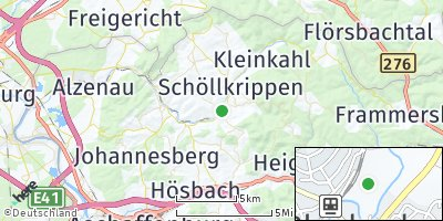 Google Map of Schöllkrippen