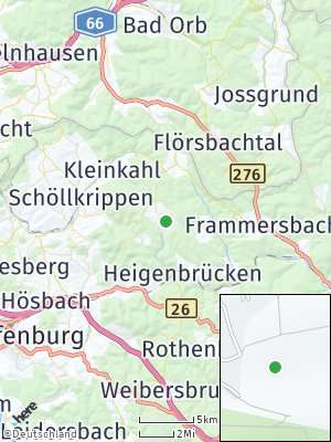 Here Map of Heinrichsthal