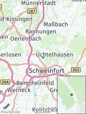 Here Map of Dittelbrunn