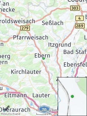 Here Map of Ebern