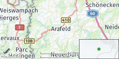 Google Map of Arzfeld