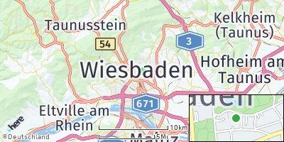 Google Map of Bierstadt