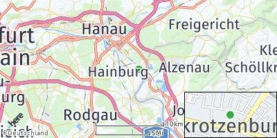 Google Map of Großkrotzenburg
