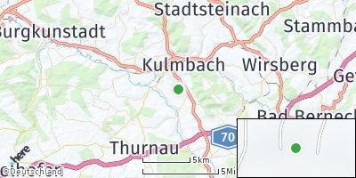 Google Map of Mangersreuth
