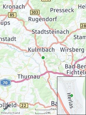 Here Map of Gelbe Weiden