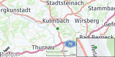 Google Map of Gelbe Weiden