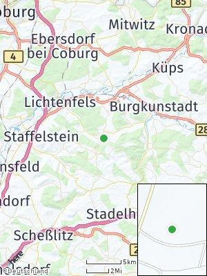 Here Map of Mönchkröttendorf