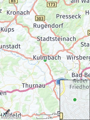 Here Map of Kulmbach