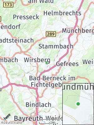 Here Map of Marktschorgast