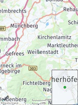 Here Map of Weißenstadt