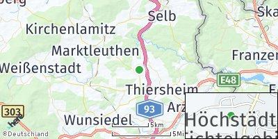 Google Map of Höchstädt