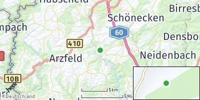 Google Map of Waxweiler