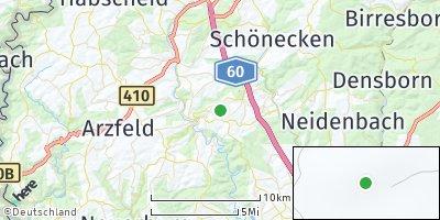 Google Map of Hargarten