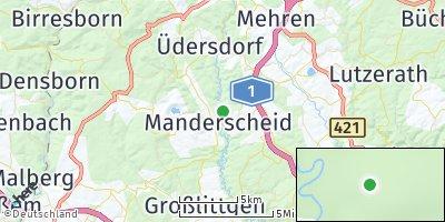 Google Map of Manderscheid