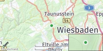 Google Map of Schlangenbad