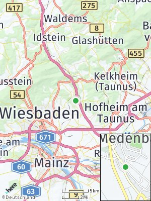 Here Map of Medenbach