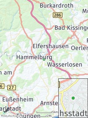 Here Map of Fuchsstadt