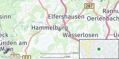 Google Map of Fuchsstadt