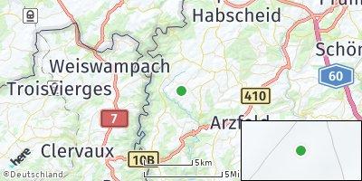 Google Map of Roscheid