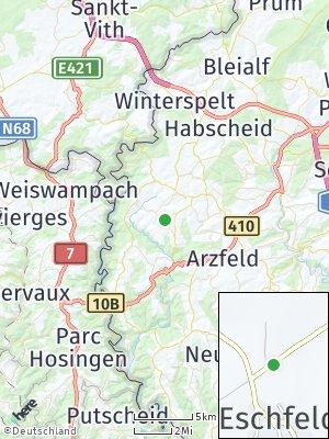 Here Map of Eschfeld