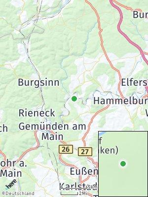 Here Map of Gräfendorf