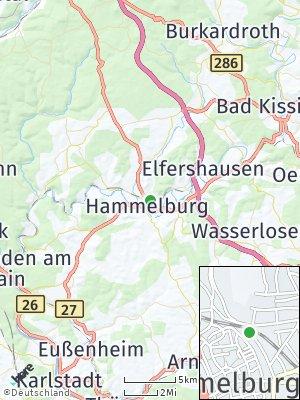 Here Map of Hammelburg