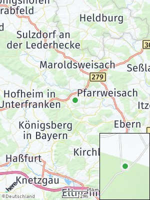 Here Map of Burgpreppach