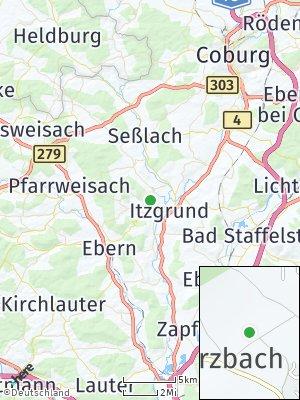 Here Map of Untermerzbach