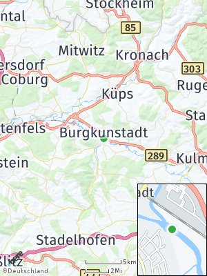 Here Map of Altenkunstadt