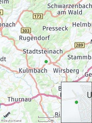 Here Map of Untersteinach