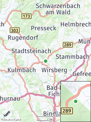 Here Map of Ludwigschorgast