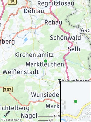 Here Map of Marktleuthen