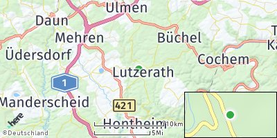 Google Map of Lutzerath