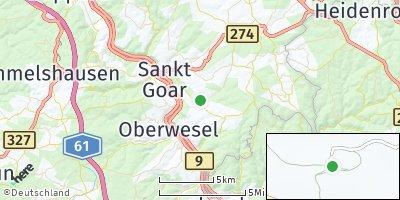 Google Map of Bornich