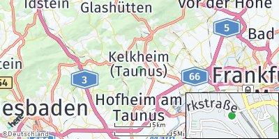 Google Map of Kelkheim
