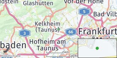 Google Map of Bad Soden am Taunus