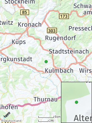 Here Map of Altenreuth