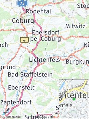 Here Map of Lichtenfels