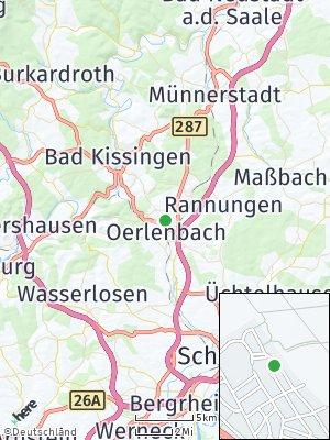 Here Map of Oerlenbach