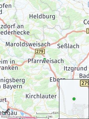 Here Map of Pfarrweisach