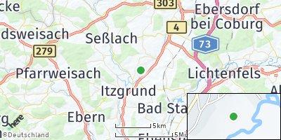 Google Map of Itzgrund