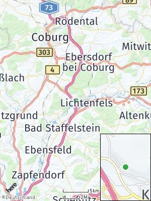 Here Map of Kösten