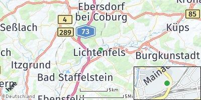 Google Map of Unterwallenstadt