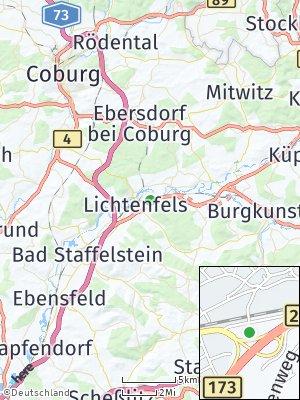 Here Map of Oberwallenstadt