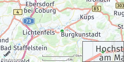 Google Map of Hochstadt am Main