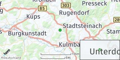 Google Map of Oberdornlach
